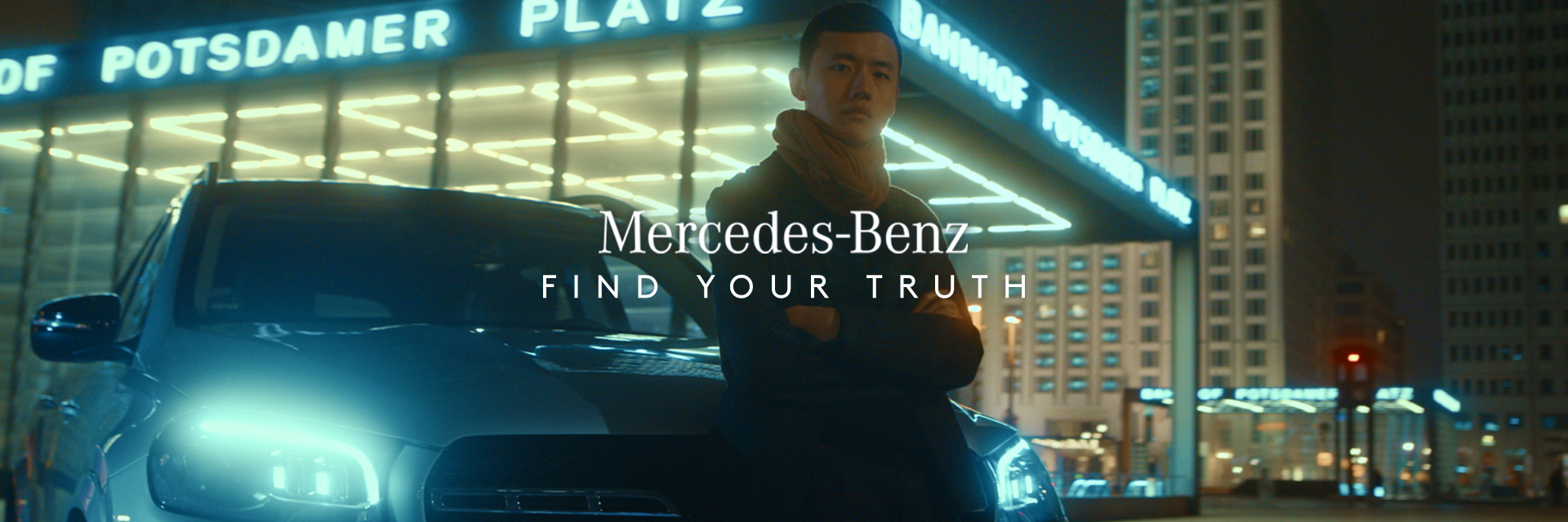 FIND YOUR TRUTH – MERCEDES BENZ